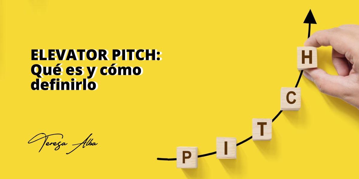 qué es elevator pitch