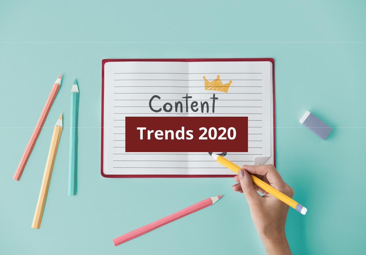 Tendencias en marketing de contenidos para 2020