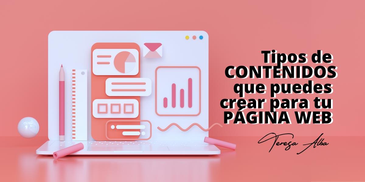 tipos de contenido web