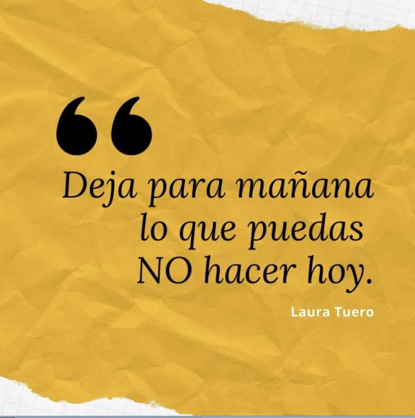 ejemplo frases de mujeres emprendedora Laura Tuero