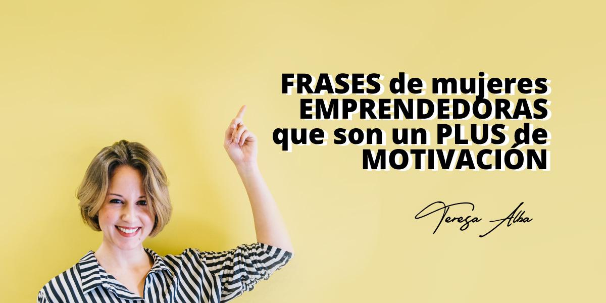 frases de mujeres emprendedoras