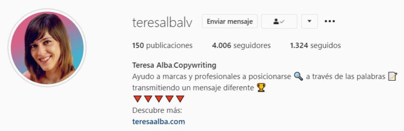 ejemplo frases para instagram bio